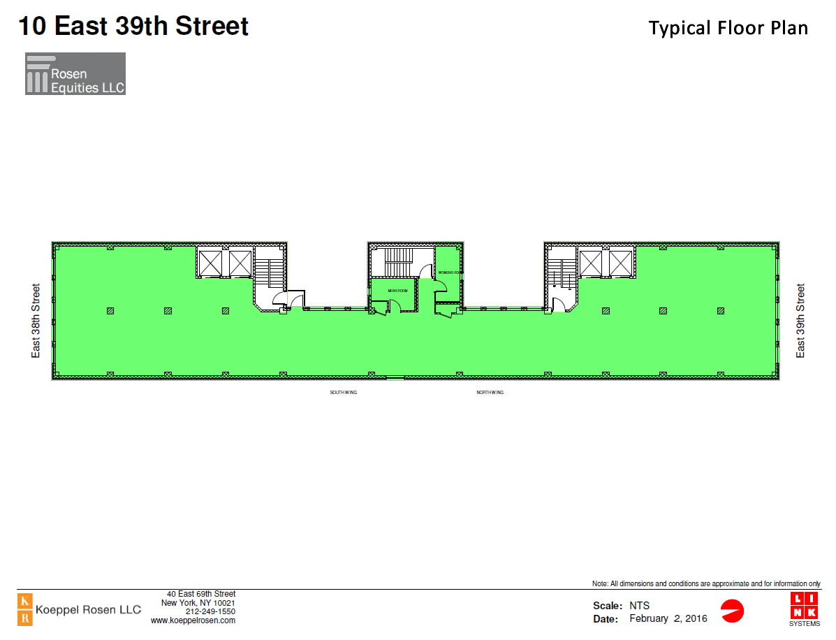 10 East 39th Siteplan