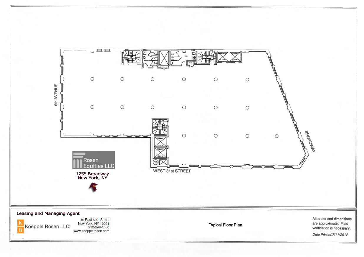 1255 Broadway Siteplan