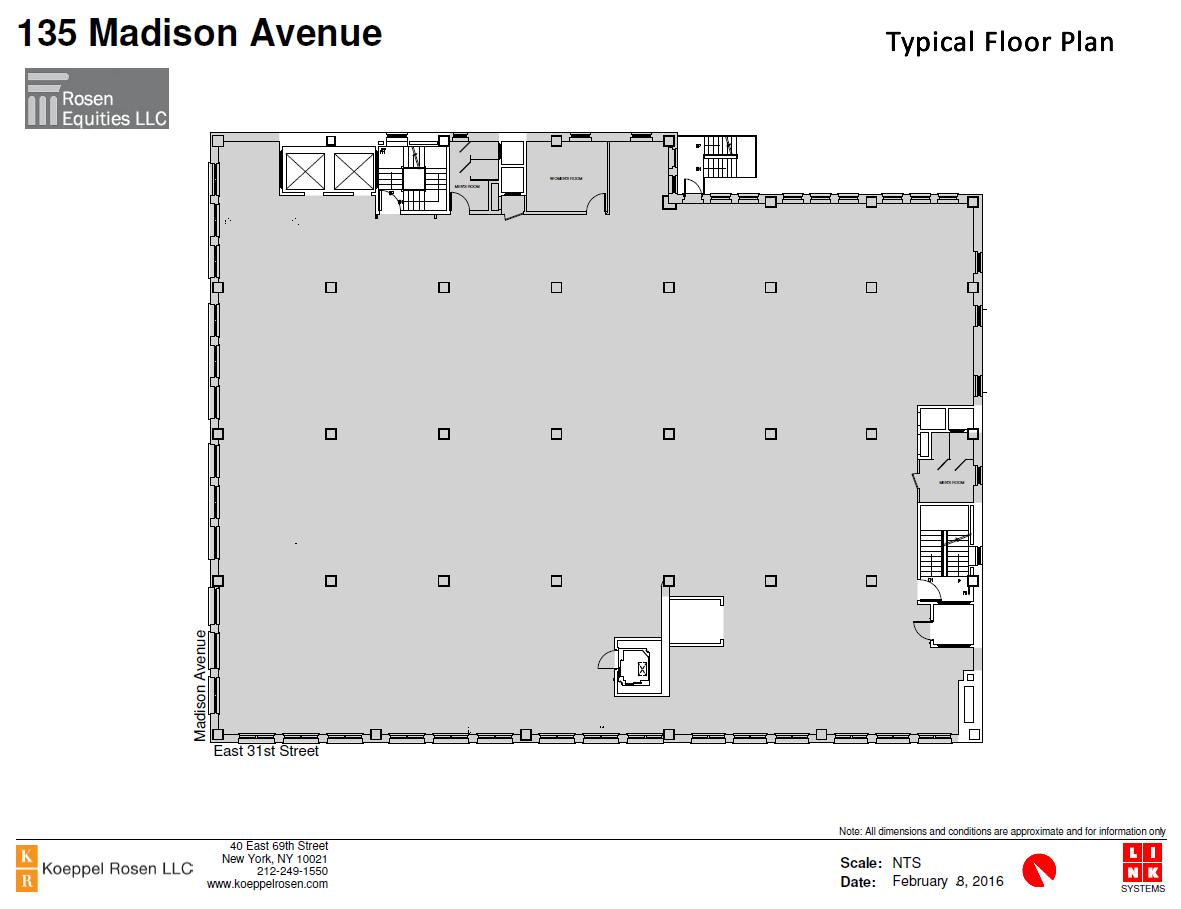 135 Madison Siteplan