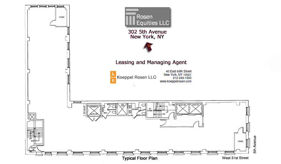 302 Fifth Ave Siteplan