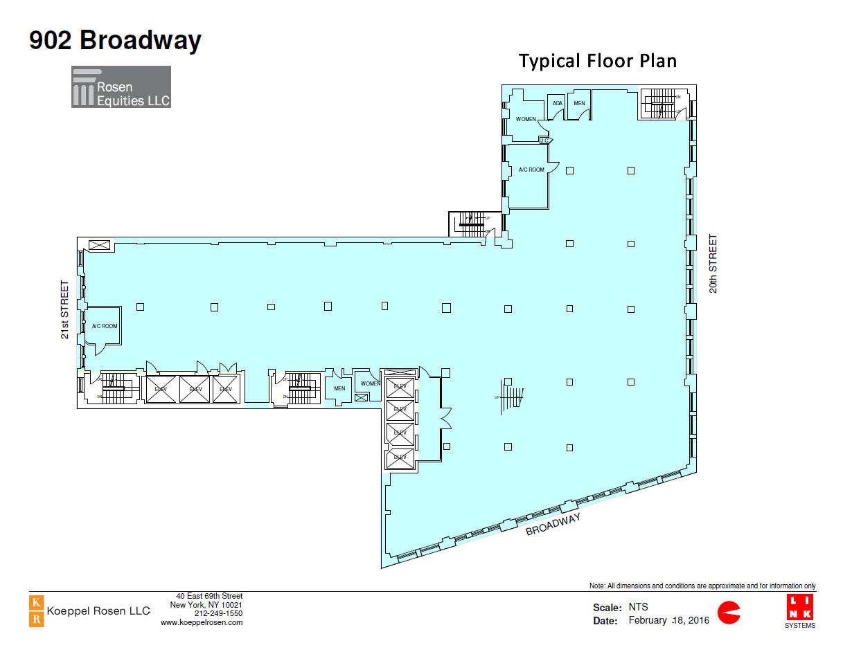 902 Broadway Siteplan