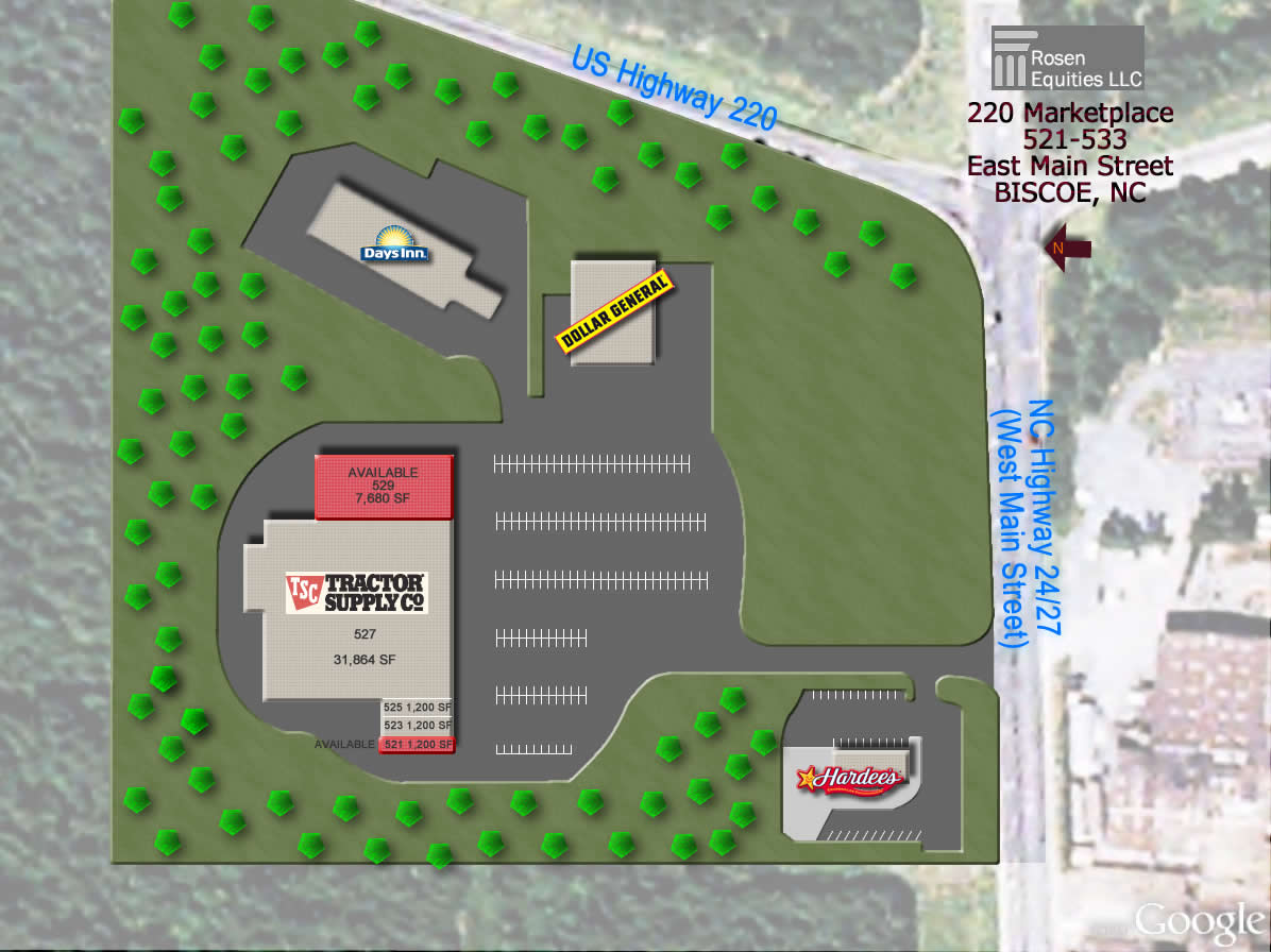 220 Marketplace Site Plan