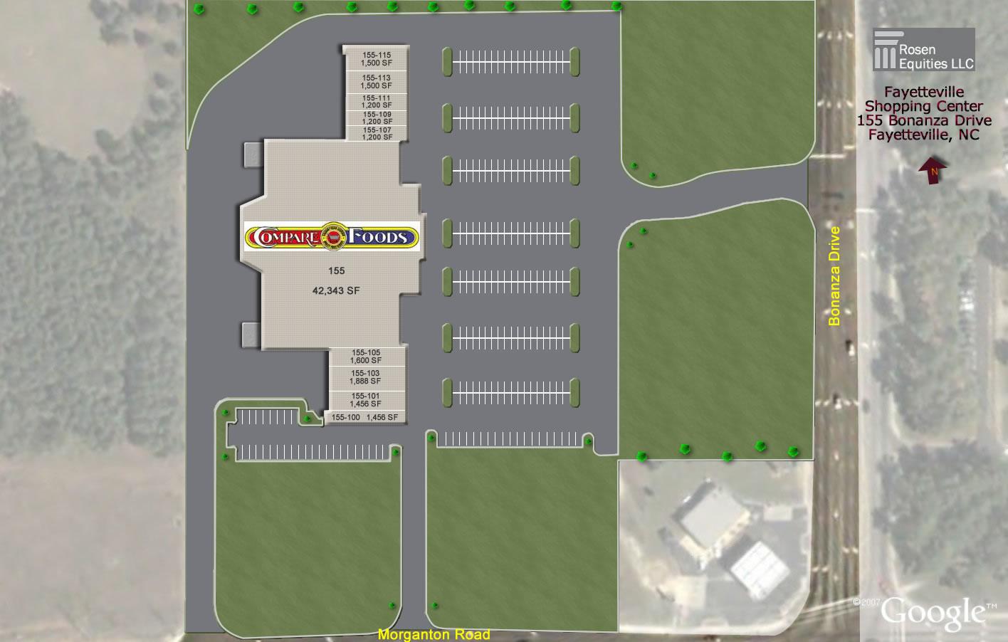 etteville-Compare Foods Center Siteplan