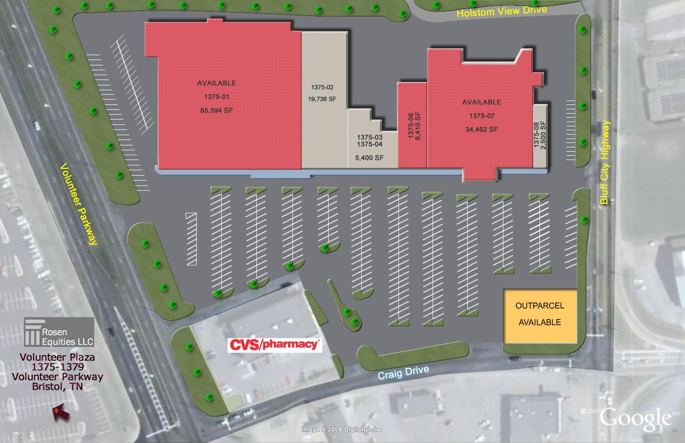 Bristol Volunteer Plaza Site Plan