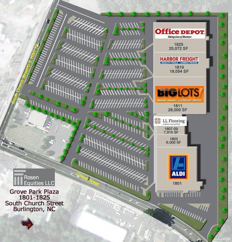 Grove Park Plaza Siteplan