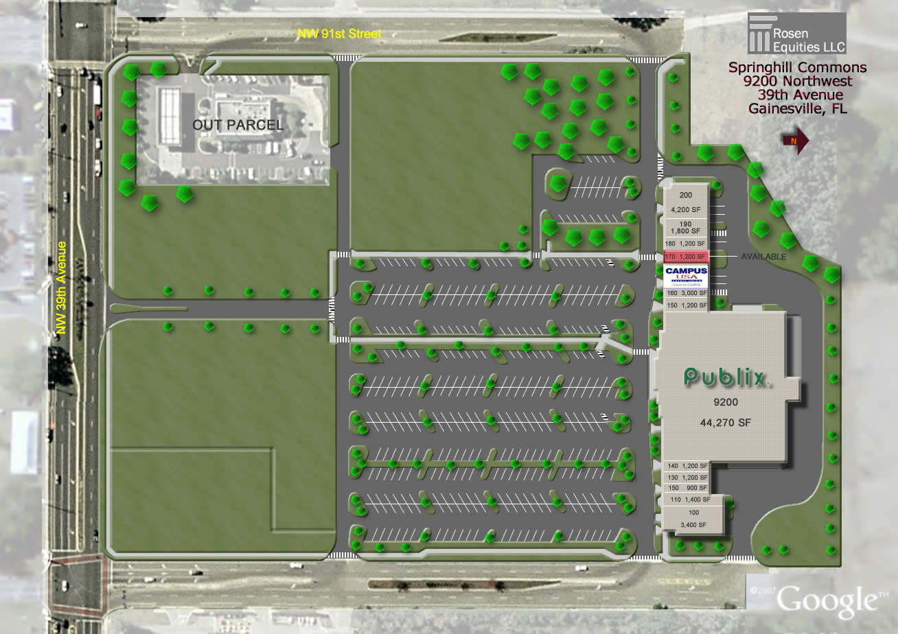 Springhill Commons Siteplan