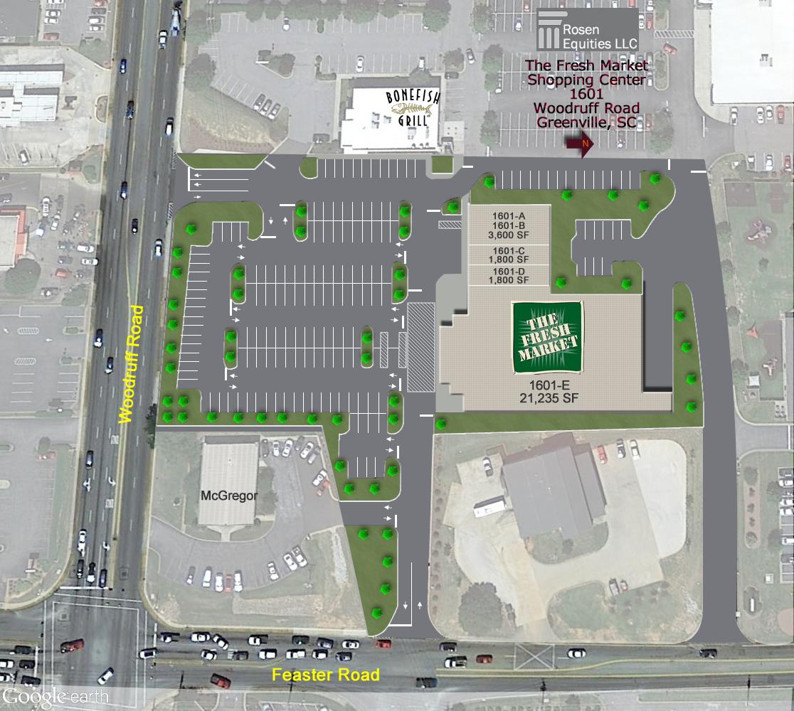 The Fresh Market Shopping Center Siteplan