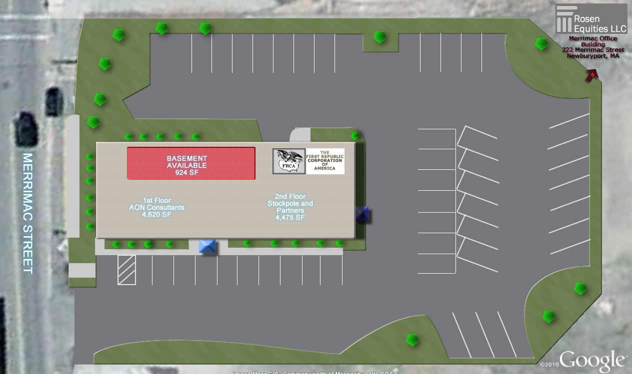 Merrimack Office Building Siteplan