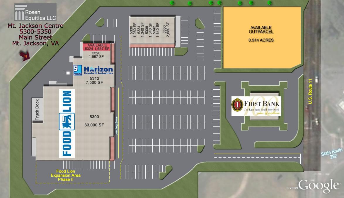 Mt Jackson Centre siteplan