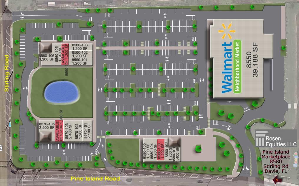 Pine Island Marketplace siteplan
