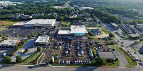The Fresh Market Shopping Center Aerial