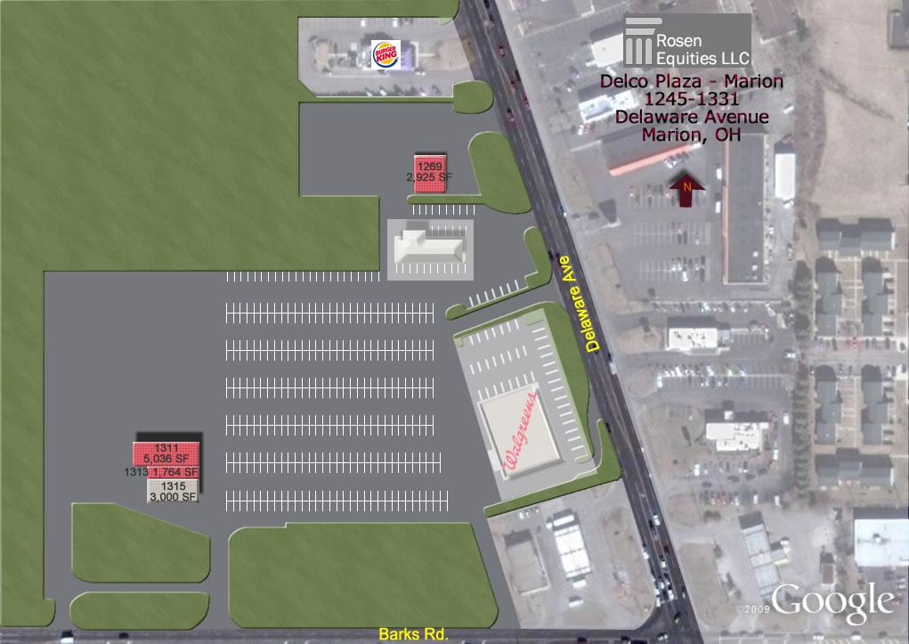 RW Marion Siteplan