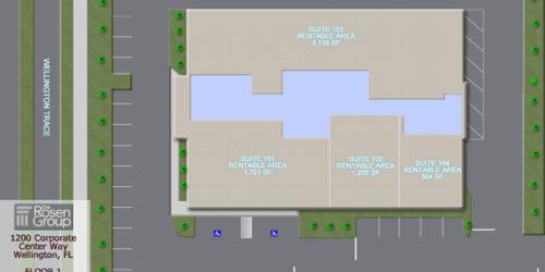on Corporate Center Floor 1 siteplan