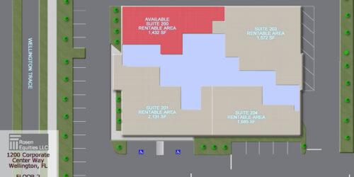 on Corporate Center Floor 2 siteplan