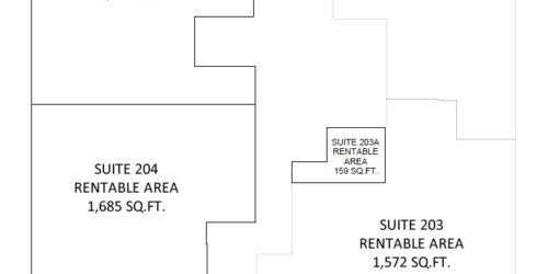 Wellington Corporate Center Floor 2 siteplan
